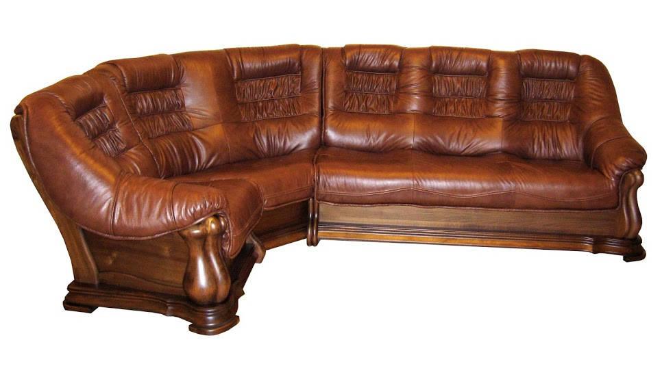 """Кожаный угловой диван """"Maestro"""" (310см-105см)"""