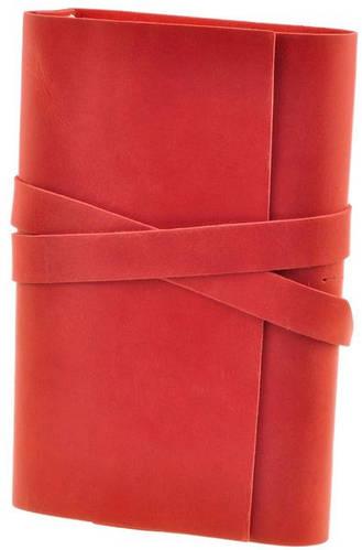 Потрясающий кожаный софт-бук Маковая лента BlankNote BN-SB-1-st-mak-len красный