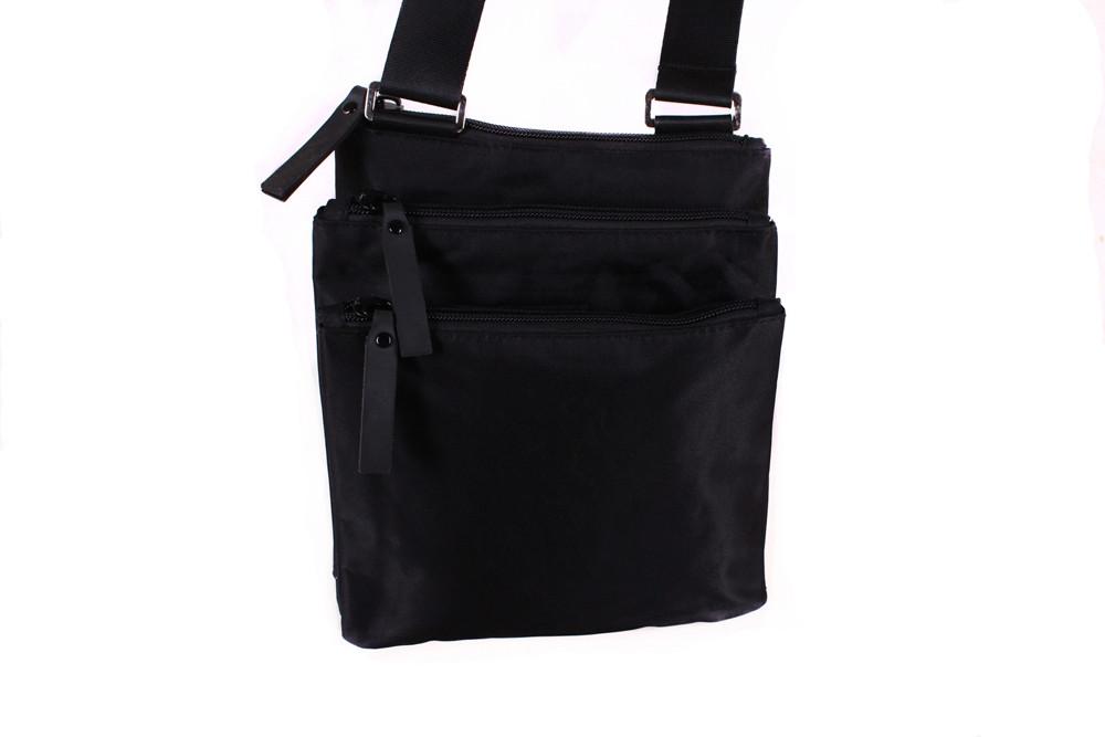 Мужская текстильная сумка 301288 черная
