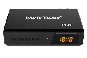 ТВ тюнер World Vision T126 T2