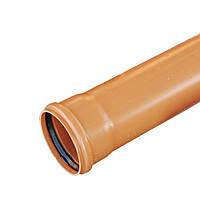 Труба для наружной канализации EVCI 110х2,2х1000мм