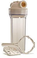 """Проточный фильтр для холодной воды прозрачный, резьба 1/2"""""""