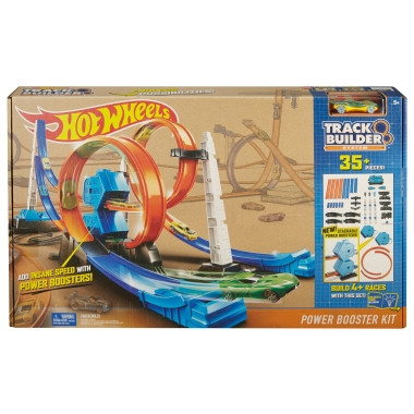 Описание: Hot Wheels® Track Builder System ™ Booster Kit Мощность - Shop.Mattel.com