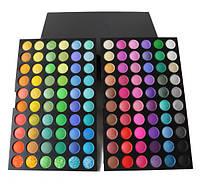 Палитра теней 120 цветов (полноцветные) палетка тени для век