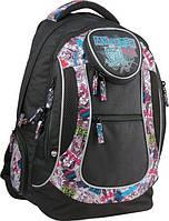 Рюкзак Kite 804 Monster High MH15-804L школьный детский для девочек отдел для ноутбука