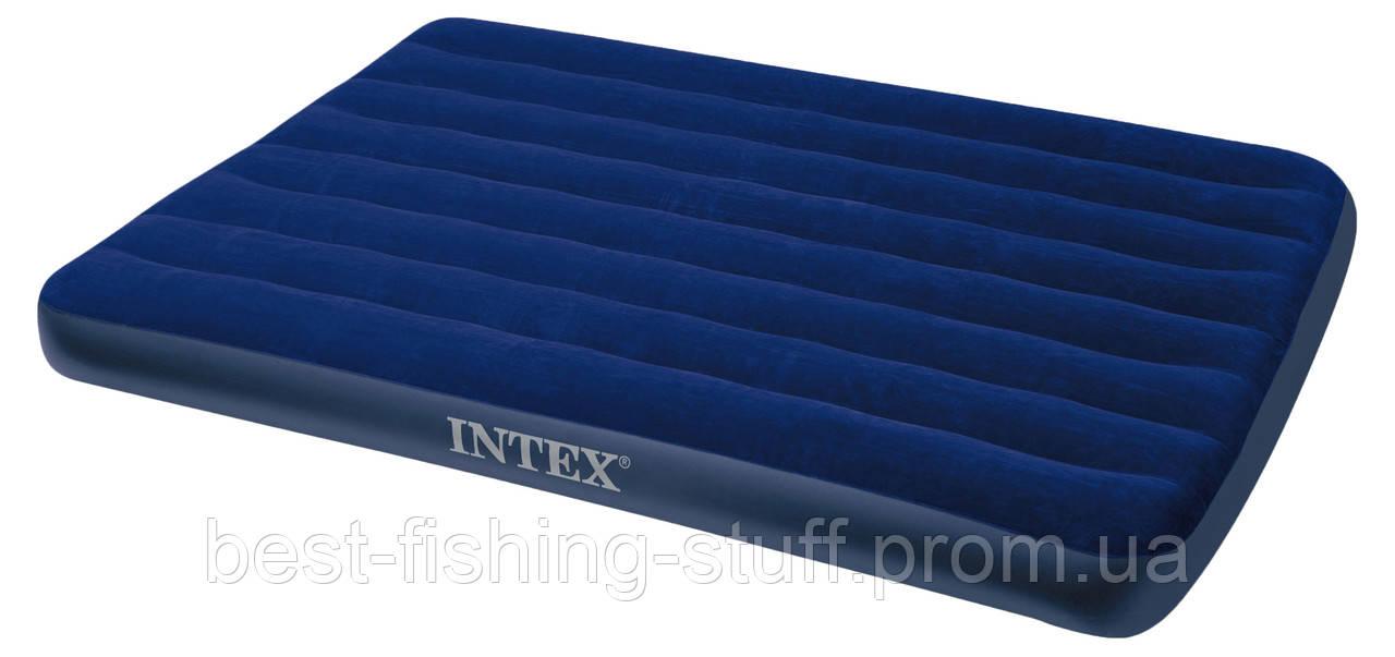 Надувной матрас INTEX 203х152х22