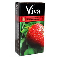 Презервативы Viva цветные ароматизированные №12, фото 1