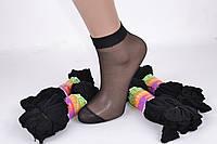 Носки капроновые стрейч Черный (YL208/BL) | 10 пар