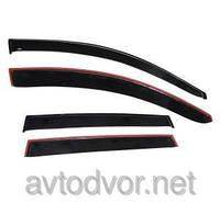 Ветровики (Дефлекторы окон) Chevrolet Colorado 4d 2012 Cobra