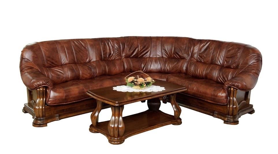Классический угловой диван Miami (260см-210см)