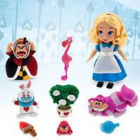 Игровой набор Алиса с мини куклой Disney Animators' Collection Alice Mini Doll Play Set