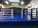 Боксерский ринг на помосте 6*6м, канаты 5*5м., фото 2