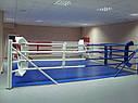 Боксерский ринг (ковер 6,5*6,5м, канаты 5,5м.), фото 3