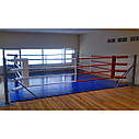 Боксерский ринг Ковер 5,5*5,5м, канаты 4,5м., фото 2