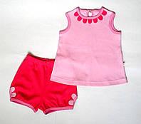 Летний комплект (майка-топ и шорты)