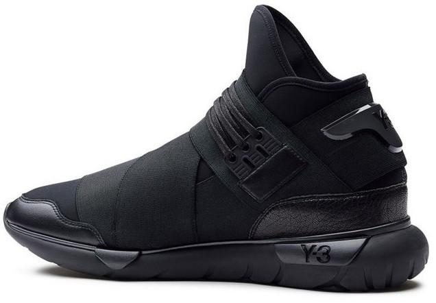 Кроссовки мужские в стиле Adidas Y-3 Qasa Black
