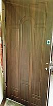 Входная дверь модель Т1-2 vinorit-37/темный орех, фото 3