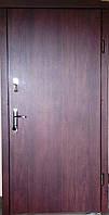Входная дверь модель Т1-2 vinorit-37/темный орех