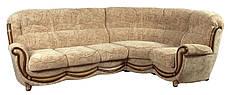 Кожаный диван Джозеф, раскладной диван, мягкий диван, мебель из кожи, диван, фото 2
