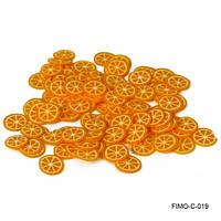 """""""Сладкий апельсин"""" для аквариумного дизайна ногтей"""