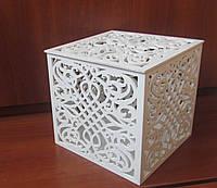Свадебная коробка для денег, 18 см