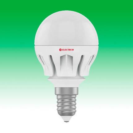 Светодиодная лампа LED 6W 2700K E14 ELECTRUM LB-14 (A-LB-0305), фото 2