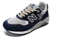 Женские кроссовки New Balance 580 blue-grey, фото 1