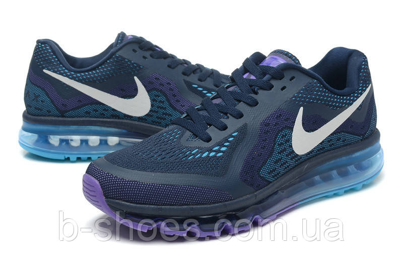 Мужские кроссовки Nike Air Max 2014 (Dark Blue)