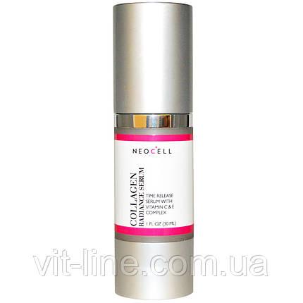 Сыворотка Collagen+C Liposome-восстановление и защита кожи,Neocell, 30 мл, фото 2