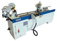 TOSKAR WM 200-250 автоматический двухголовочный станок для резки и фрезеровки профиля МДФ