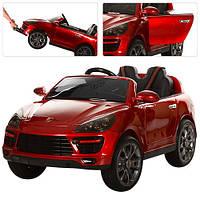 Детский электромобиль M 3191 EBLRS-3 Porsche Cayenne автопокраска красный