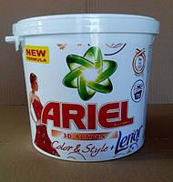 Пральний порошок для кольорових тканин Ariel & Lenor color 6 кг