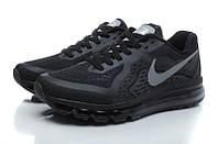 Мужские кроссовки Nike Air Max 2014 (Black), фото 1