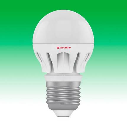 Светодиодная лампа LED 6W 4000K E27 ELECTRUM LB-14 (A-LB-0308), фото 2
