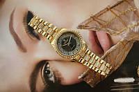 Часы женские со стразами, фото 1