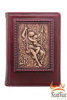 Подарочный кожаный ежедневник Романтика