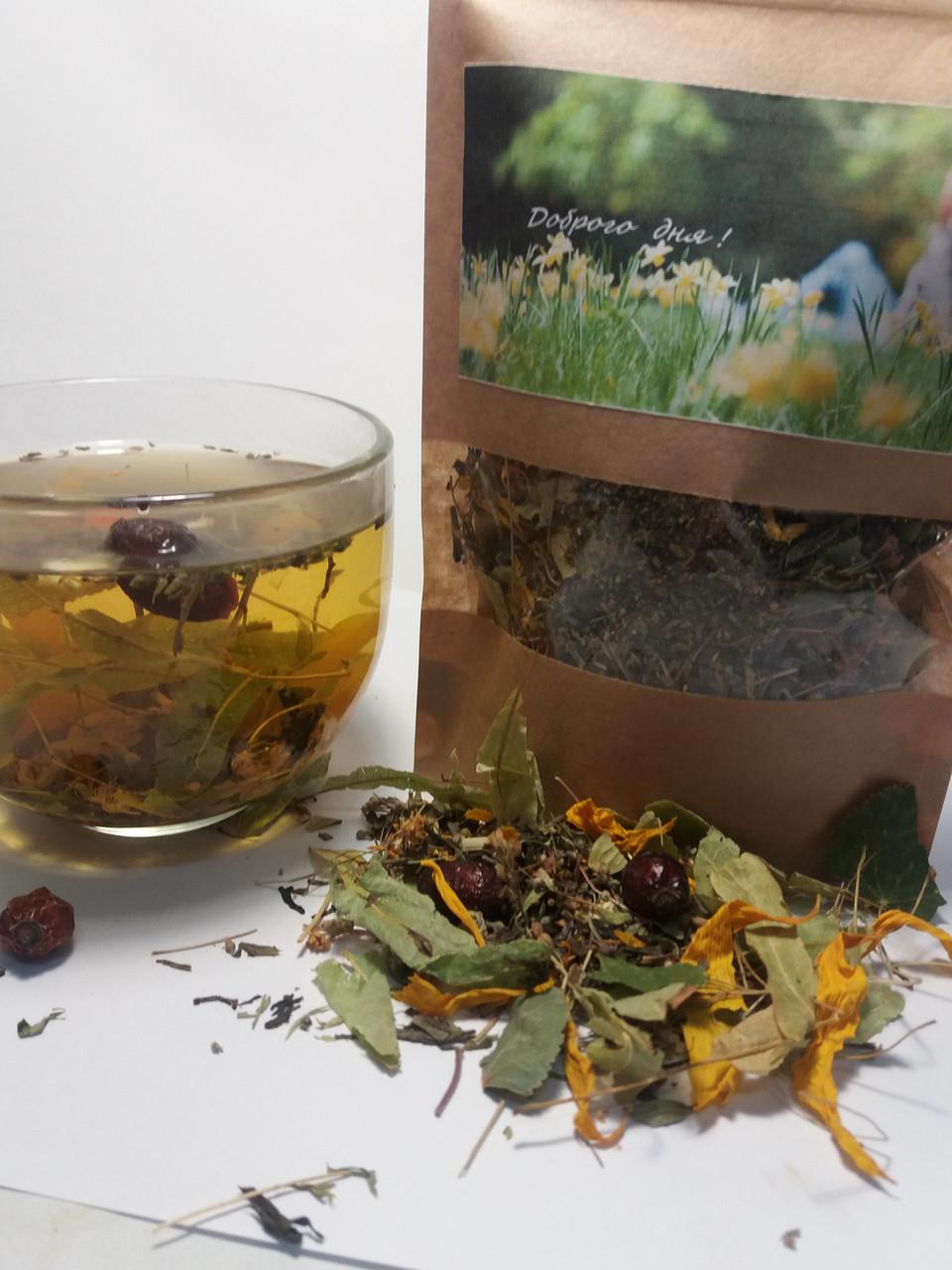 Композиционный на основе зеленого чая  «Доброго дня!»
