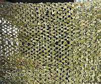 Сетка маскировочная MIL-TEС ПВХ 40% затемнения желтая