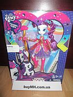 Кукла  Рарити рок причёска My Little Pony Equestria Girls Rainbow Rocks Rarity Rockin' Hairstyle