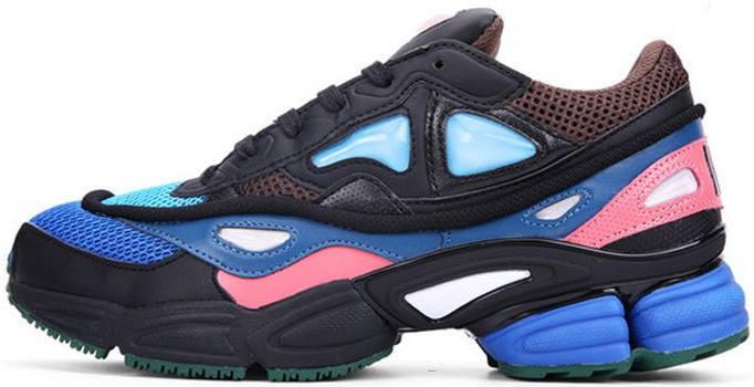 """Женские кроссовки Raf Simons x Adidas Consortium Ozweego 2 """"Black/Brown/Blue"""", адидас консортиум, фото 2"""