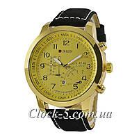 Кварцевые часы Curren Military 8139 Black/Black