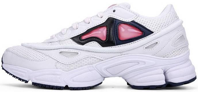 """Женские кроссовки Raf Simons x Adidas Consortium Ozweego 2 """"White/Bold Orange"""", адидас консортиум, фото 2"""
