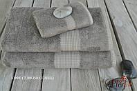 Бамбуковое махровое полотенце 70х140 MEVSIM TURKISH COFFEE