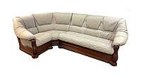 Кожаный угловой диван Маркиз (245см-190см)