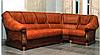 Кожаный угловой диван Маркиз (245см-190см), фото 2