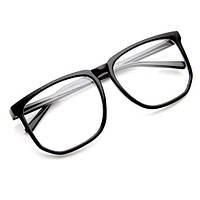 Очки прозрачные, очки с прозрачной линзой