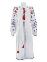Нежное платье вышиванка для нежной девушки. Цвет платья и вышивки разные!
