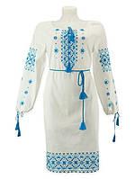 Нежное платье вышиванка для нежной девушки ! Орнамент любого цвета нитей