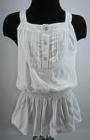 Нарядное платье-туника для девочки 6-10 р