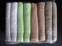 Турецкие махровые полотенца для лица, фото 1